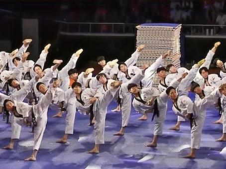 El taekwondista es extraordinario