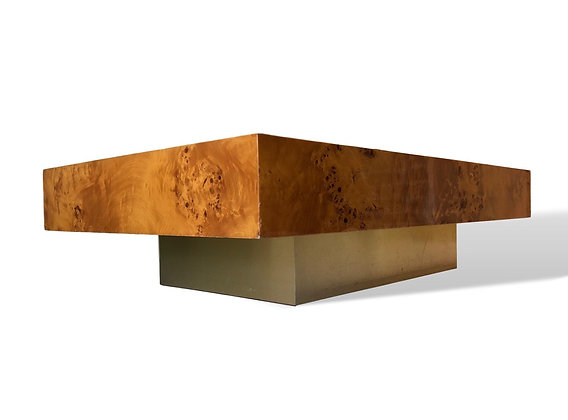 Coffee table by Jean Claude Mahey for Roche Bobois