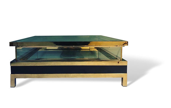 Vitrine Coffee Table by Maison Jansen