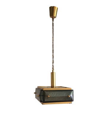 Swedish brass pendant light