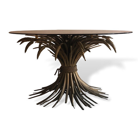 French Wheat sheaf Centre Table