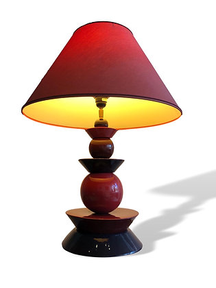 1980s Geometric Table Lamp