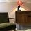 Thumbnail: Mid Century Barsony style African Lamp