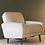 Thumbnail: Italian Lounge Chair in Boucle Wool