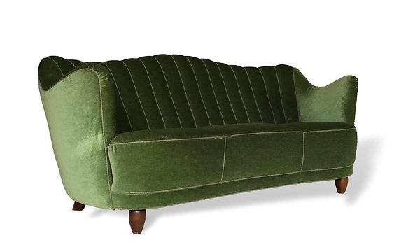 Art Deco Danish Sofa