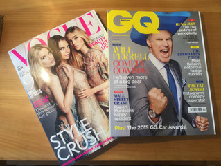 Vogue AND GQ!