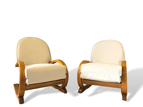 Pair of Cantilever Chairs by P E Gane for Heals C 1930