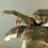 Thumbnail: Brass Palm Tree Lamp by Maison Jansen