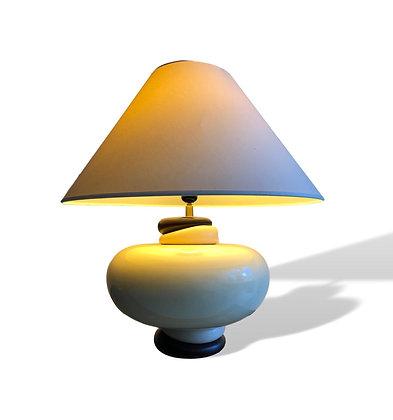 1980s Pebble Style Lamp