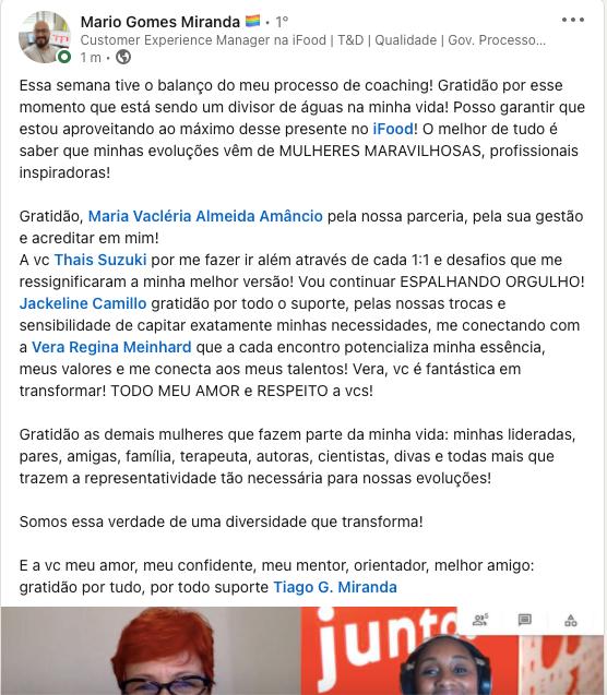 Mario Gomes Miranda 2021 - ifood