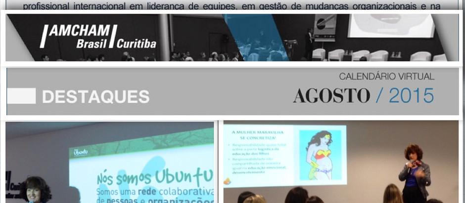 Palestra Amcham Curitiba - Encontro de Mulheres