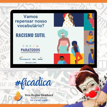 Racismo estrutural e nosso vocabulário