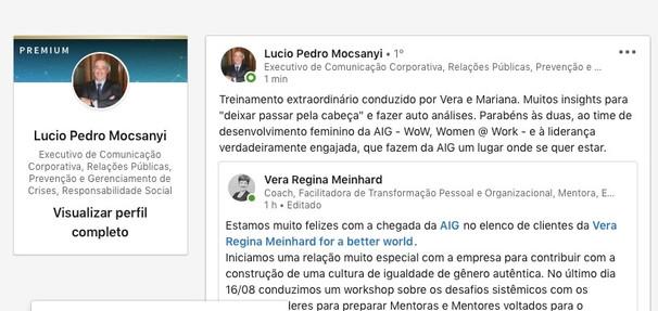 Lucio Pedro  Mocsanyi - AIG