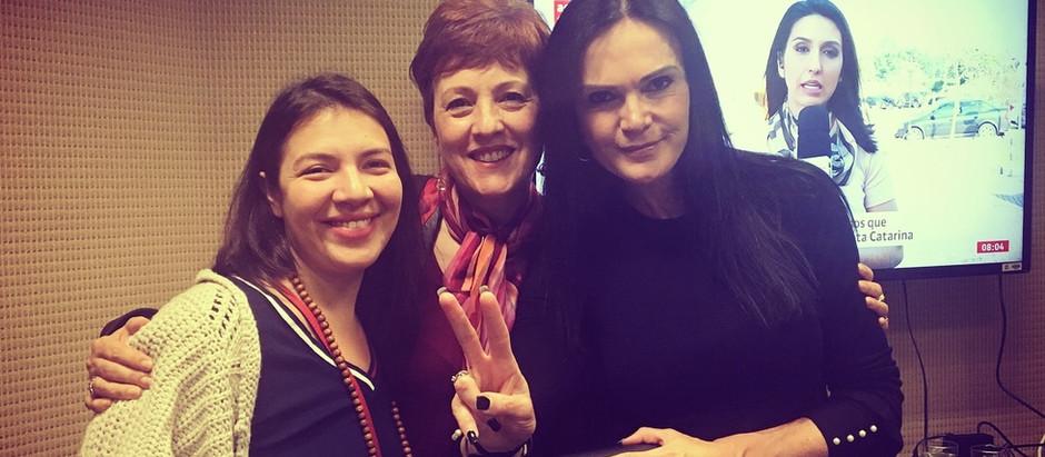 Entrevista no programa da Maria Rafart na rádio Transamerica Light