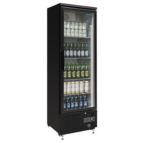 Polar Single Door Upright Back Bar Cooler