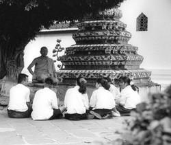 TEACHING MONK, THAILAND