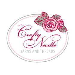Crafty Needle Yarns Logo