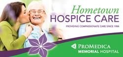 ProMedica Hospice Billboard
