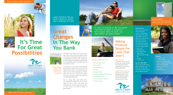 Great Lakes Credit Union Brochure