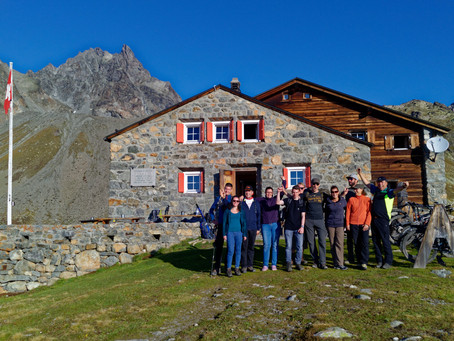 Stadtmusik Wanderung Albula Alpen   15./16.9.2018