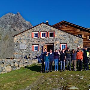 Stadtmusik Wanderung Albula Alpen