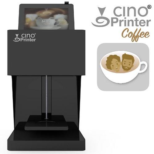 Cino Printer Coffee - Black - بما في ذلك خرطوشة واحدة
