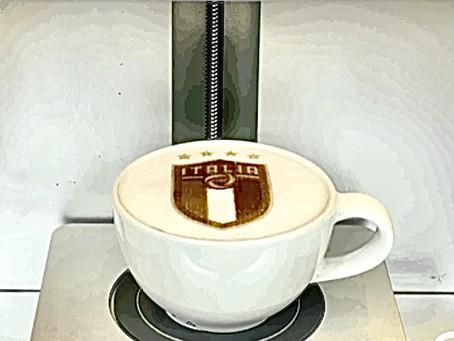 Imprime tu equipo favorito con Cino Printer Coffee X