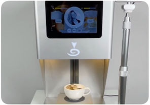 coffee printer, selfie coffee, stampa immagine sul cappuccino, latte art, cino printer, caffe colorato