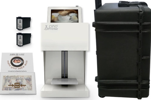 Cino Printer Coffee - Blanc - PACK COMPLET