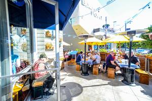 Rasselbock Pet-Friendly Patio Long Beach Beer Garden