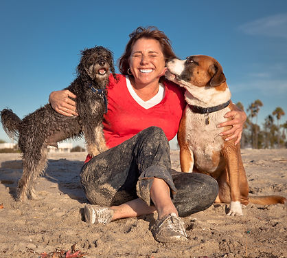 Mary Ellen Hobbs - Pet Waggin' founder and owner on Long Beach in California