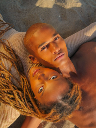 James Butler and Jada Renee Bland shot by Emily Eizen Makeup by Nica Tan