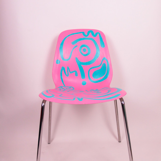 EMILY EIZEN BUBBLEGUM CHAIR
