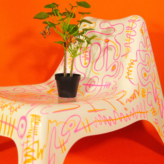 Crayon Chair