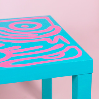 EMILY EIZEN COFFEE TABLE