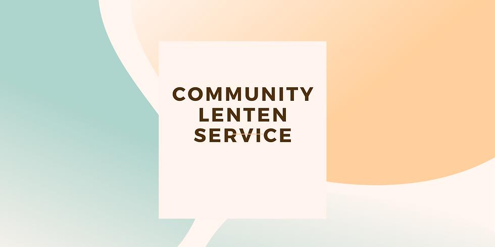 Community Lenten Service