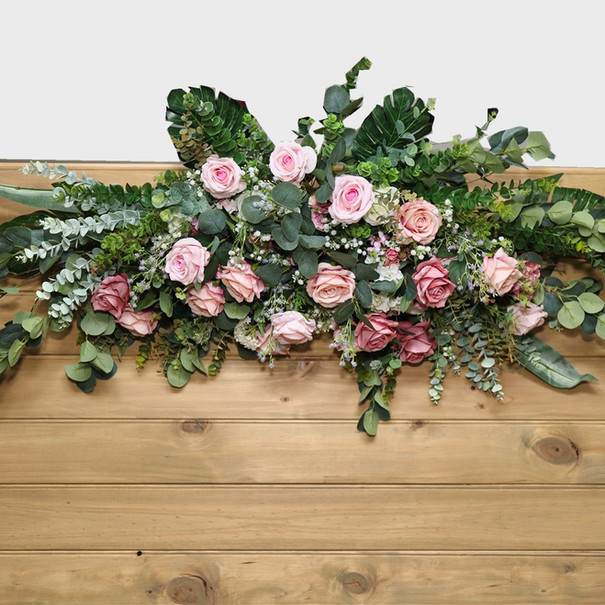 Rustic Wood with Floral