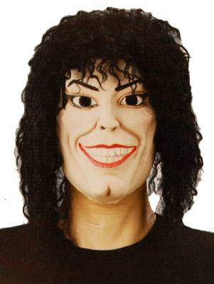 Mascara Michael Jackson Borracha