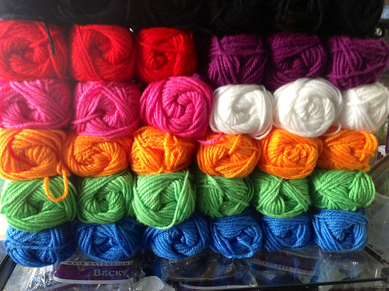 Lã para trança (un)