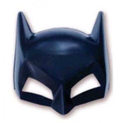 Máscara batman meio rosto
