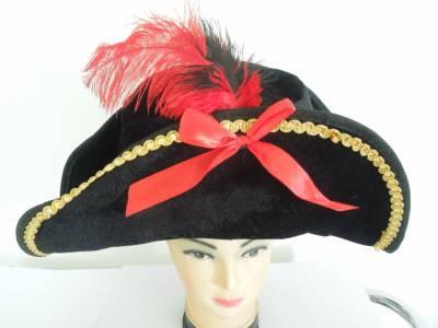 chapeu pirata Luxo