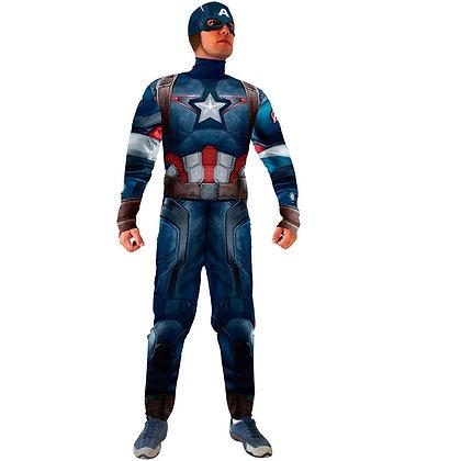 Capitão America com musculatura