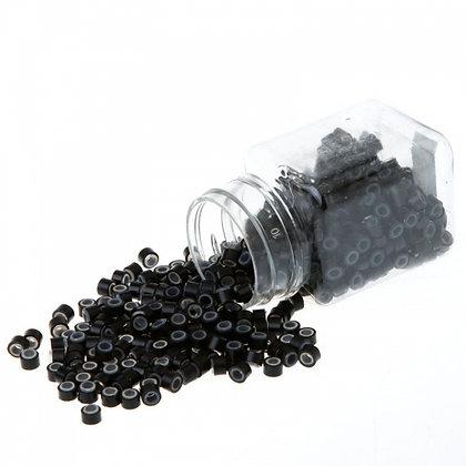 Anéis Microlink com silicone 1000 pc