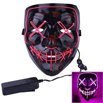 Máscara com Led