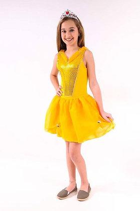 Princesa Dourada Curta