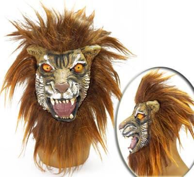 Mascara Tigre c/ Cabelo - Latex