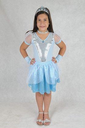 Princesa Azul Curta
