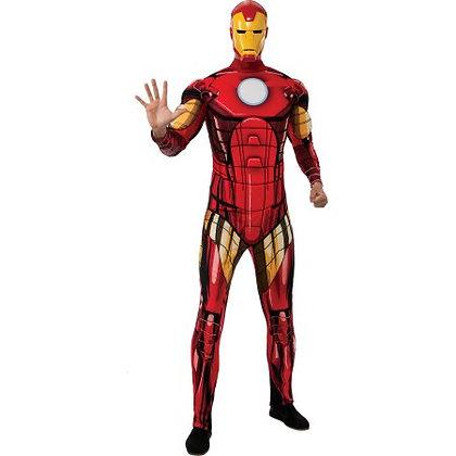 Homem de Ferro com musculatura