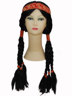 Peruca india Pocahontas