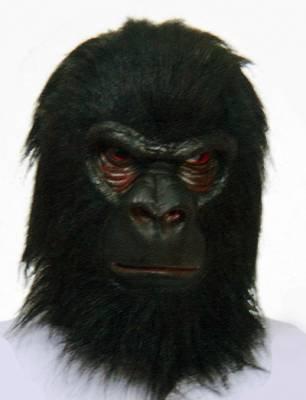 Mascara Planeta dos Macacos Borracha Flex - Preta